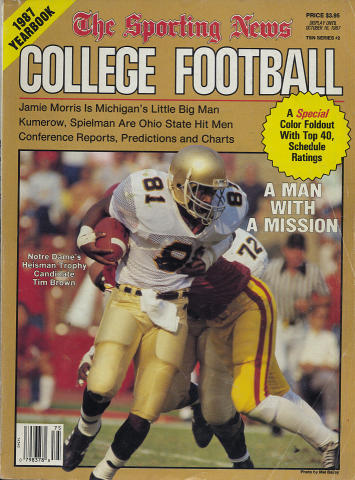 The Sporting News College Football Yearbook 1987