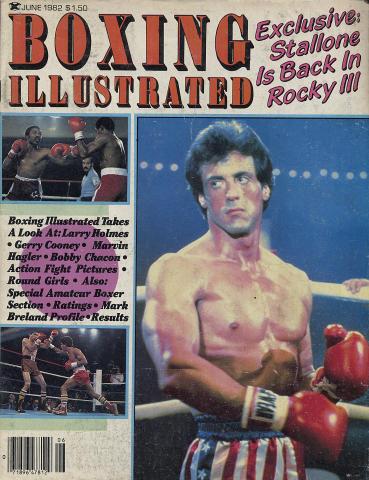 Boxing Illustrated Magazine June 1982