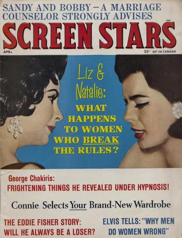 Screen Stars Magazine April 1963