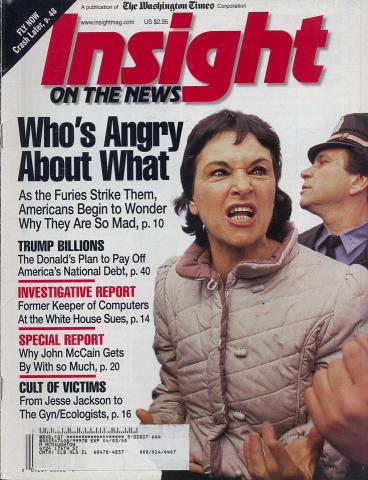 Insight On the News Magazine January 3, 2000