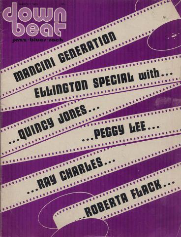 Down Beat Magazine March 1973