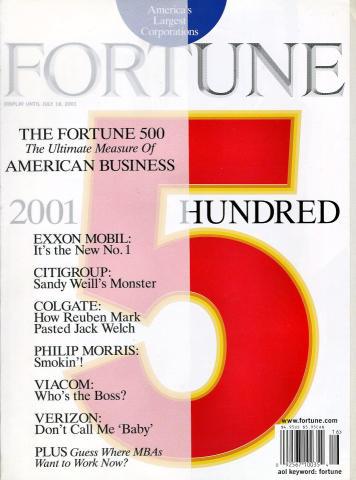 Fortune Magazine July 18, 2001