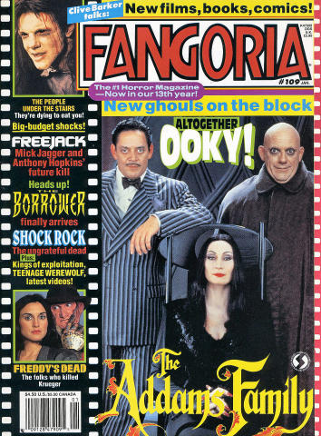 Fangoria Magazine January 1992