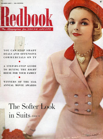 Redbook Magazine February 1954