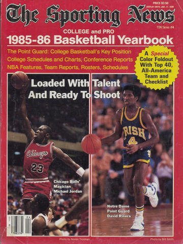 The Sporting News 1985-86 Basketball Yearbook