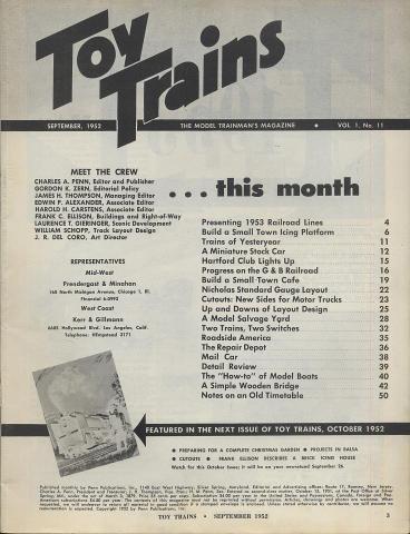 Toy Trains