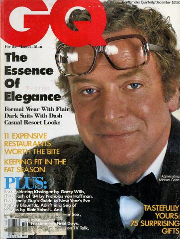 GQ Magazine December 1983