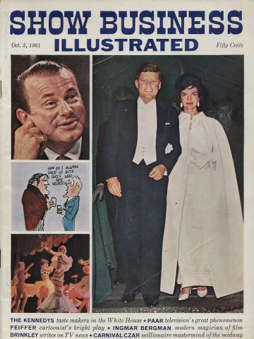 Show Business Illustrated Magazine October 3, 1961