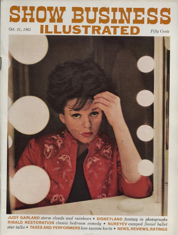 Show Business Illustrated Magazine October 31, 1961