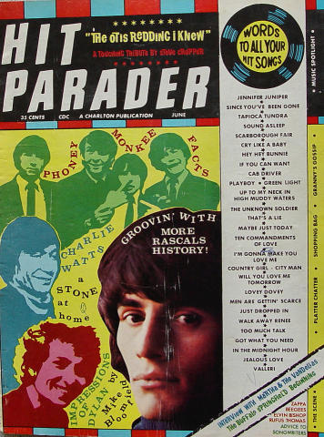 Hit Parader Magazine June 1968