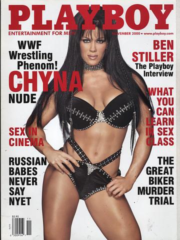 Playboy Magazine November 1, 2000