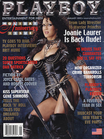 Playboy Magazine January 1, 2002