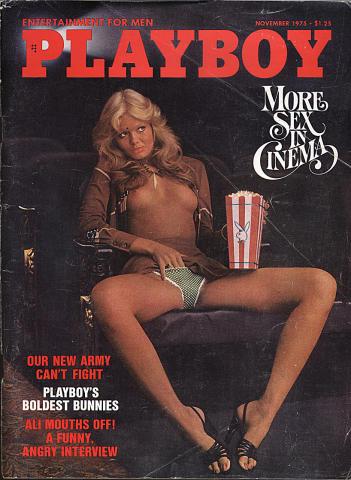 Playboy Magazine November 1, 1975