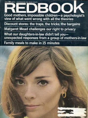 Redbook Magazine April 1965