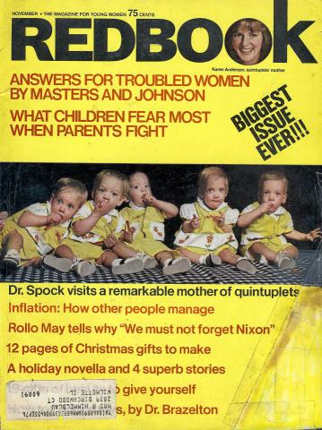 Redbook Magazine November 1974
