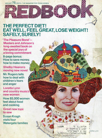 Redbook Magazine January 1975