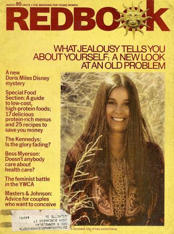 Redbook Magazine March 1975