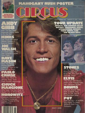 Circus Magazine August 17, 1978