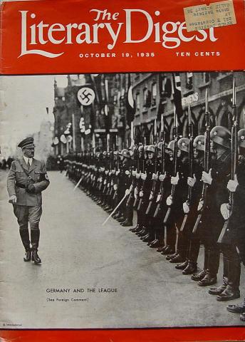 The Literary Digest Magazine October 19, 1935