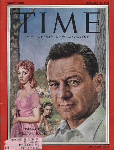 Time Magazine February 27, 1956