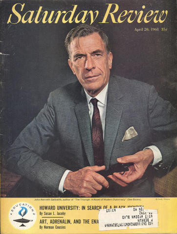 The Saturday Review April 20, 1968