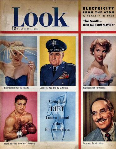 LOOK Magazine January 15, 1952
