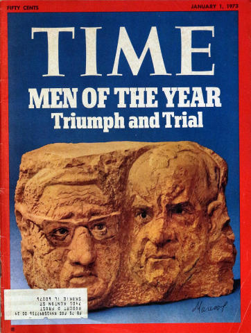 Time Magazine January 1, 1973
