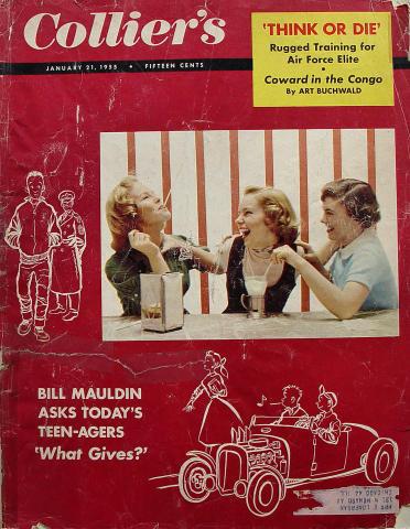 Collier's Magazine January 21, 1955