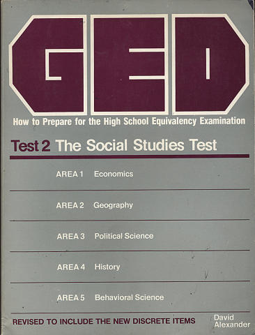 GED Test 2: The Social Studies Test