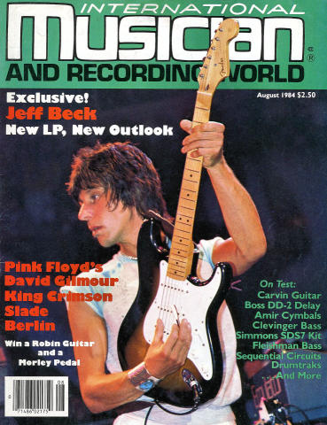 International Musician Magazine August 1984