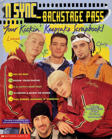 Scholastic: 'N Sync - Back Stage Pass