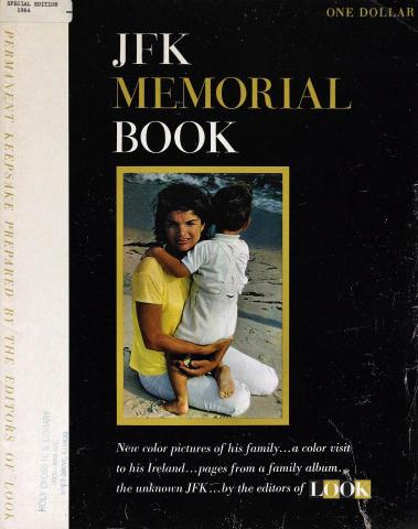 JFK Memorial Book
