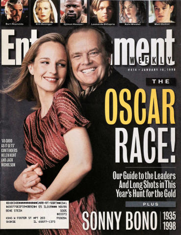 Entertainment Weekly January 16, 1998