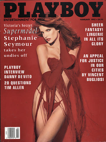 Playboy Magazine February 1, 1993