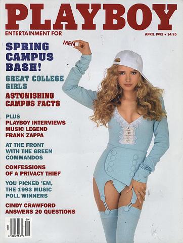 Playboy Magazine April 1, 1993