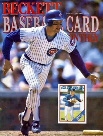 Beckett Baseball Card Monthly April 1990