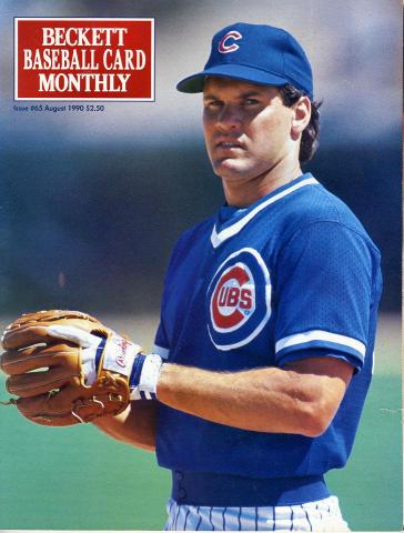 Beckett Baseball Card Monthly August 1990
