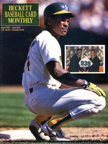 Beckett Baseball Card Monthly April 1991
