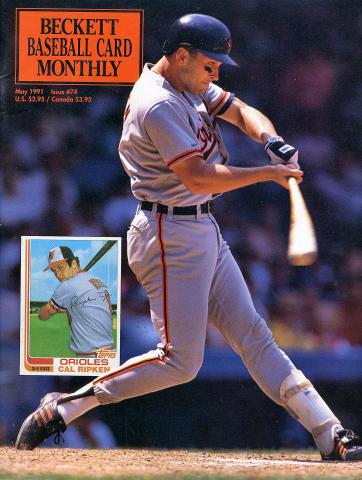 Beckett Baseball Card Monthly May 1991