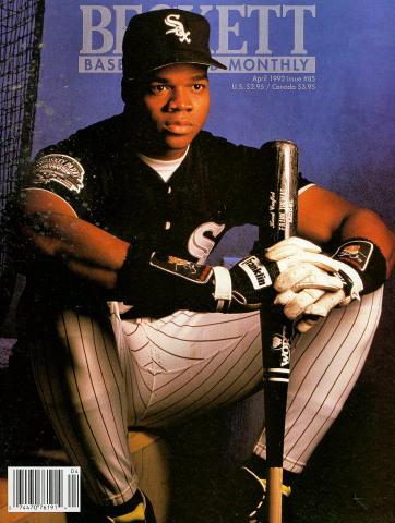 Beckett Baseball Card Monthly April 1992