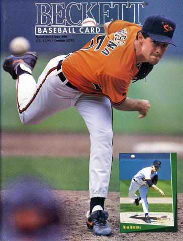 Beckett Baseball Card Monthly March 1993