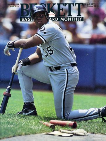 Beckett Baseball Card Monthly January 1994