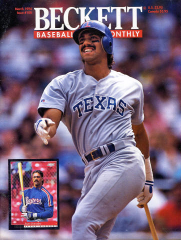 Beckett Baseball Card Monthly March 1994