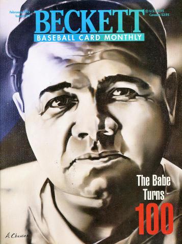 Beckett Baseball Card Monthly February 1995
