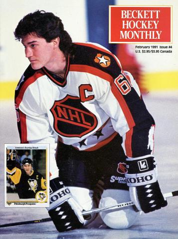 Beckett Hockey Monthly February 1991