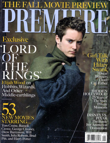 Premiere Magazine September 1, 2001