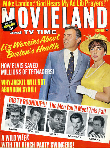 Movieland and TV Time Magazine October 1965