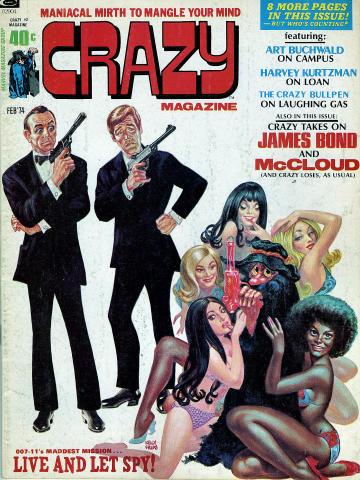 Crazy Magazine February 1974