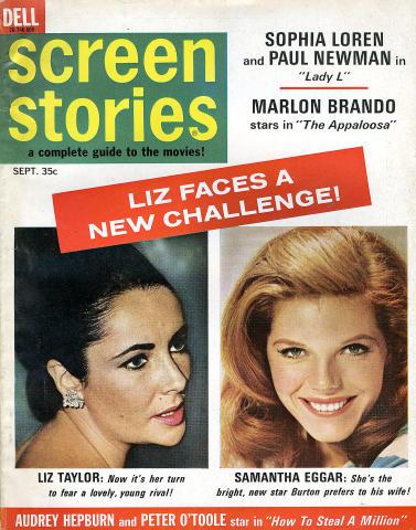 Screen Stories Magazine September 1966