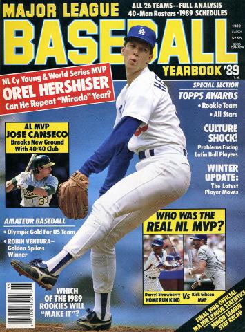 Major League Baseball Yearbook Vol. 12 No. 1